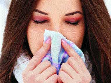 Avoid allergens in winter