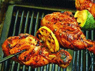 Jamaican Jerk Chicken Drumstick