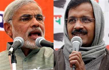 delhi election: modi versus kejriwal