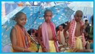 उपनयन संस्कार के साथ परशुराम जयंती का समापन
