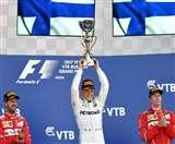 फॉर्मूला-1: वेटल को मात देकर मर्सिडीज के वोटास ने जीता रूस ग्रां प्री का खिताब