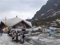 Doors open of Hemkund Sahib