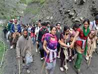two lakh fifty thousand devotees are registered to Amarnat yatra