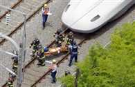 Two feared dead in Japan bullet train suicide fire: official