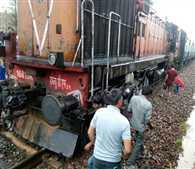 Bhopal-Jodhpur Passenger Engine Derailed