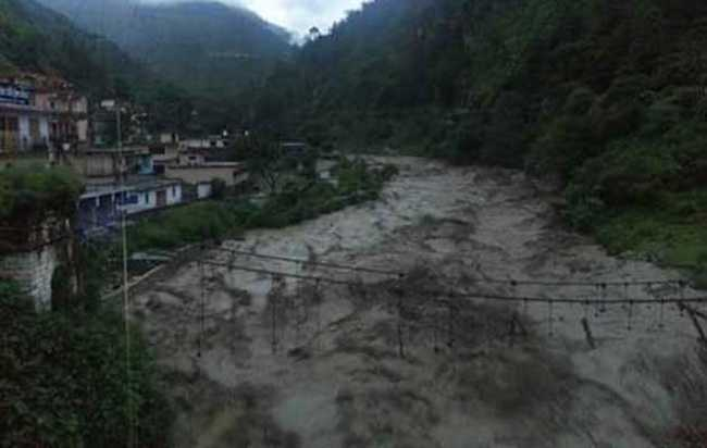 Heavy rains in Uttarakhand,  Cloud Burst In Pithoragarh