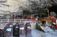 Learn how to Amarnath holy cave of ice build natural Shivling
