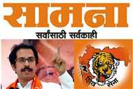 Shiv sena defends eknath khadse in Saamana
