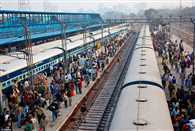 There is no reservation in train for Dussehra and Diwali