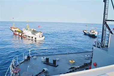 Respond strongly to India's move in SCS: Chinese media