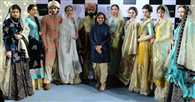 Anju Modi showcased her latest collection inspired from Persia