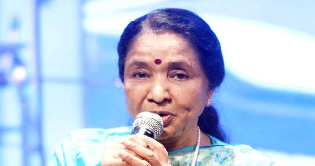Asha Bhosle to perform live again