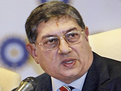 Srinivasan dream of becoming  the BCCI president broken