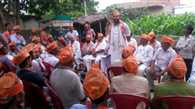 Making the 30-member team at booth BJP