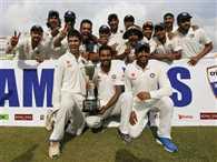 India won test series against sri lanka by 2-1