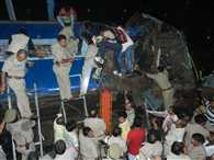 train accident in gorakhpur