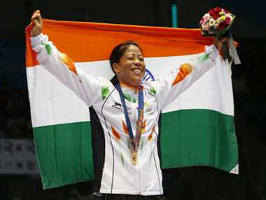 Mary Kom wins gold in Asiad
