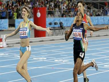 Tintu Luka misses 800m gold by 17 miliseconds