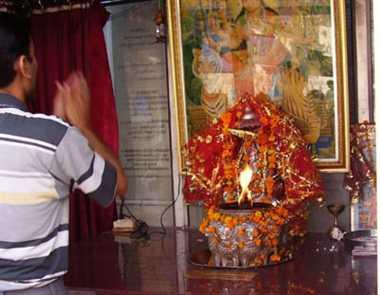 Jagdamba temple history of nearly 42 years old