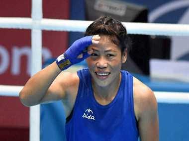 Mary Kom announced her victory before the final bout only