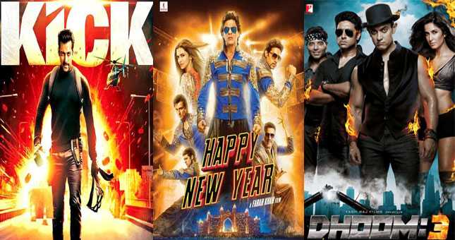 Happy New Year went unable to beat one week collection of KIck and Dhoom 3