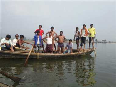 boat accident in jamui