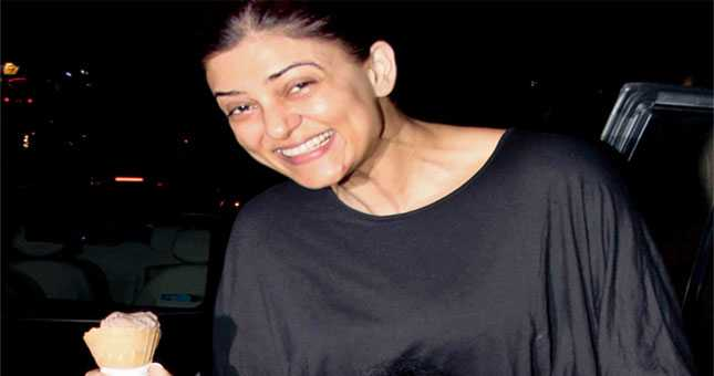 Sushmita Sen enjoy ice cream with daughter Alisah