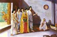Draupadi had five husbands and why, what was with the Pandavas
