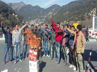 Student Council Protest Against Rahul Gandhi