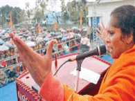 Sadhvi Prachi supports Mohan Bhawat's statement