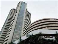 sensex close at 97 points high