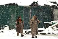 Heavy rain and snowfall in north india