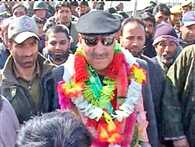Crediting hurriyat, militants and pak for smooth polling in JK is insult to state people said Cong