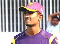 kc cariappa is new mystery spinner of kkr