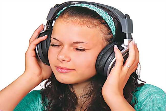 Music gives peace of mind