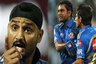 Harbhajan Singh and Ambati Rayudu spat on field against Pune