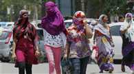 Scorched north India in heat wave