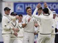 New zealand defeat England by 199 runs