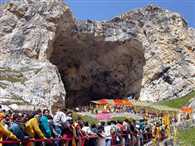 first visit of Baba Amarnath today