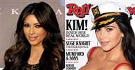 Kim Kardashian on Rolling Stone cover