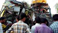 road accident in khandava 25 died