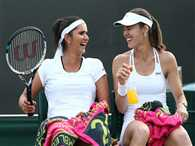 Sania and hingis in second round