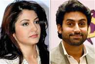 Abhishek Bachchan imitates Virat Kohli's flying kiss to Anushka Sharma