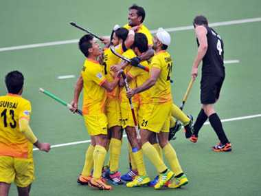 indian male hockey team enters into final