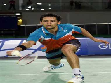 Kashyap assured of silver, Sindhu loses in semis at CWG