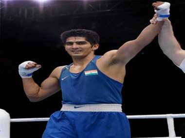 vijender singh enters into final