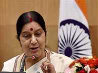 Swaraj assures help to Pakistani Hindus