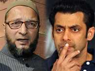 Owaisi questions over salman khan immediate bail