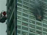 fire in chatargee international building in kolkata