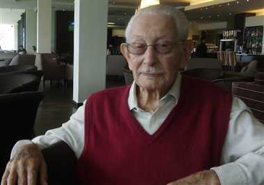 Oldest Cricketer Norman Gordon passes away